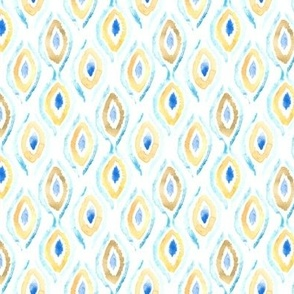 Summer Ikat Pattern