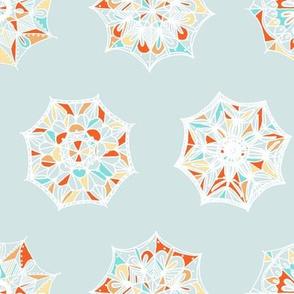 Lace Umbrellas or Snowflakes?