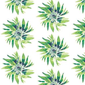 Fresh Green Floral