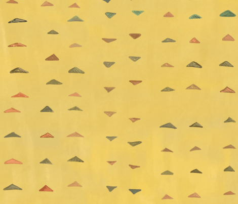 Brushed Triangles (large) fabric by jaylinn on Spoonflower - custom fabric