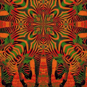 red_green_op_art_zebras
