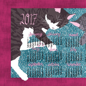 2017 Cat Calendar version 2