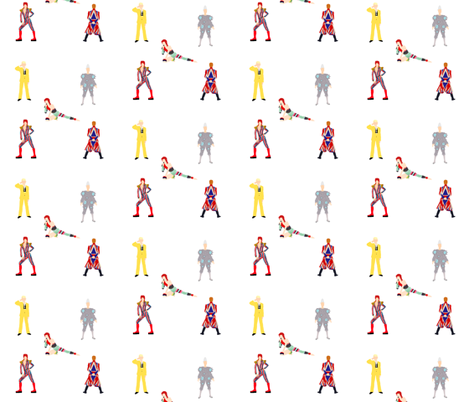 Bowie Experience fabric by knight_costumes on Spoonflower - custom fabric