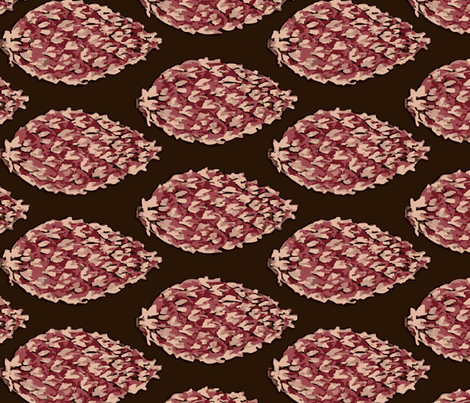 boteh_g fabric by lfntextiles on Spoonflower - custom fabric
