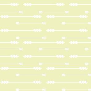 Pale Yellow Arrows