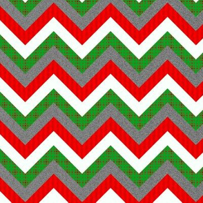 Christmas Chevron Pattern