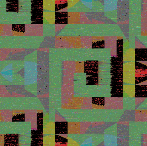 Undercity (Yellow) fabric by david_kent_collections on Spoonflower - custom fabric