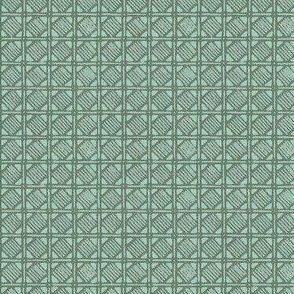 Shikakui - mint green, gray