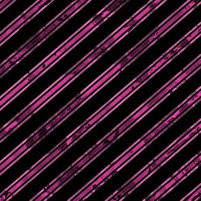 Watercolor Stripe Black Pink