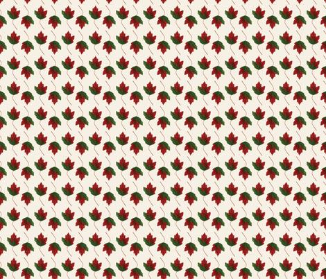 Turning Leaves fabric by anniemcbridedesign on Spoonflower - custom fabric