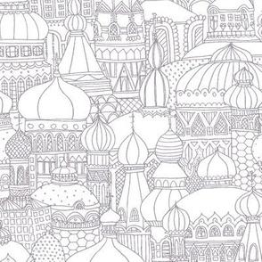 Delightful Domes - Gray