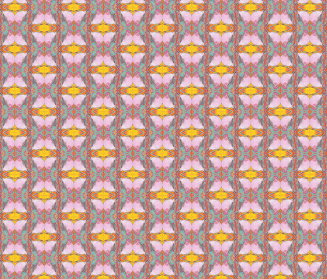 Pink Bird Diamonds fabric by peaceofpi on Spoonflower - custom fabric