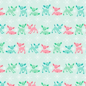 Oh Deer!- Pink Small Scale