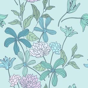 Pale Flowers- Bigger