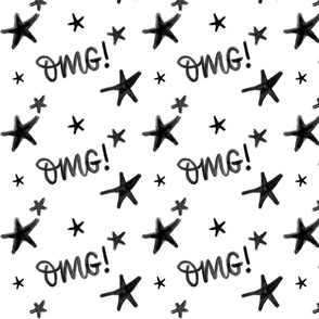 OMG stars - big pattern