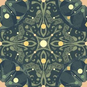Mossy Mandalas