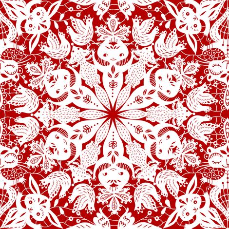 pizzi e merletti fabric by gaiamarfurt on Spoonflower - custom fabric