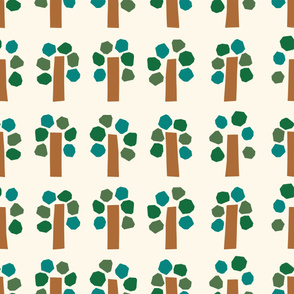 Simple tree pattern