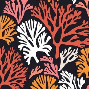 Fan Coral Dark Orange