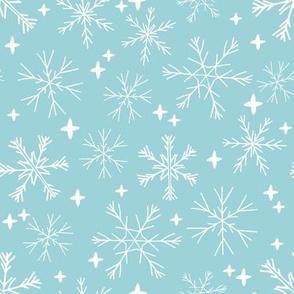 winter snowflakes // christmas winter snowflakes holiday xmas winter designs cute holiday fabrics andrea lauren design andrea lauren fabrics
