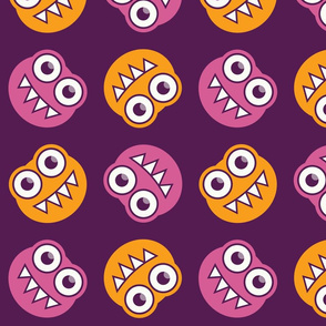 Colorful Cute Bugs Pattern
