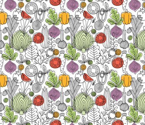 Rvegetables_seamlesss_pattern._linear_graphic._vegetables_background._scandinavian_style._healthy_food_pattern._vector_illustration-01__2__shop_preview