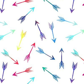 Rainbow Scattered Arrows