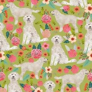 golden doodles fabric cute golden doodle dog design best florals print cute flower print dog dogs print