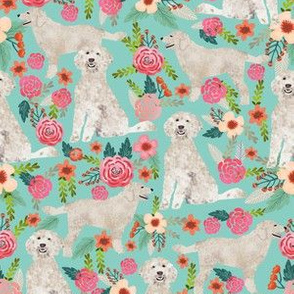 golden doodle dog fabric cute golden doodles design best golden doodles fabric sweet florals flowers cute doodles dog