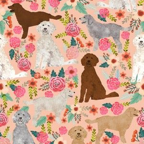 golden doodles dog floral fabric cute golden doodles design best golden doodles fabrics