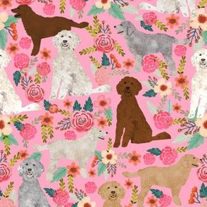 golden doodle fabric cute golden doodles design best golden doodles coats and colors florals cute dog fabric