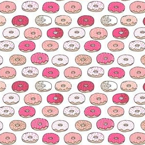 donut // sweet bakery tea donuts doughnuts pink pastel design