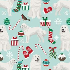 great pyrenees dog fabric cute dog design best christmas dogs fabric cute dogs best christmas fabrics