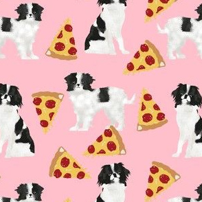 japanese chin pizza dog fabric cute pizza fabric dog fabric dogs and pizzas cute dogs design best dogs fabric