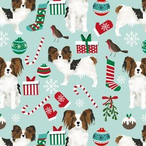 papillon christmas dogs cute papillons dogs cute dogs best dog design