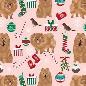 pomeranian christmas fabric cute pom dog fabric toy dog breeds fabric cute dogs best dog designs