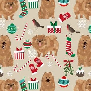 pomeranian dog christmas fabric cute pom dog toy breed s fabric cute dogs best dog design