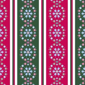 Christmas stripe medallion_Bd