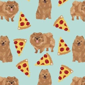 pomeranian dog pizza fabric cute funny pizza design with cute dogs pizza fabrics cute adorable dogs
