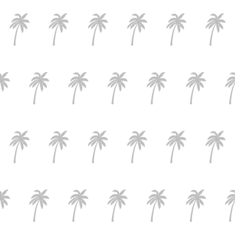 palm trees // cute palm tree silhouettes tropical palm  palm print fabric by andrea_lauren on Spoonflower - custom fabric