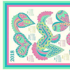 2018  Heart Calendar
