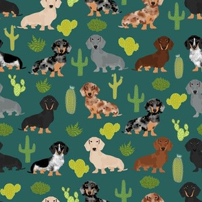 doxie cactus fabric cute dachshund dog fabrics designs best doxie fabrics cute dachshunds