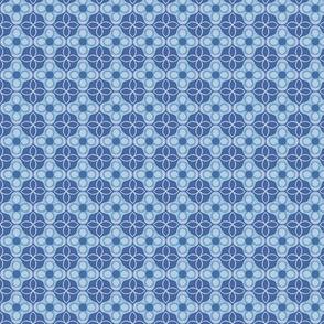Horseshoe Flowers, Blue Jean, Small