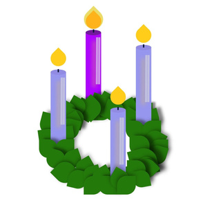 Advent Wreath; V Large