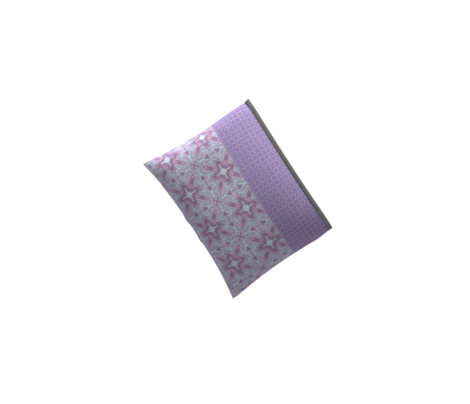 Horseshoe Flowers, Purple, Small