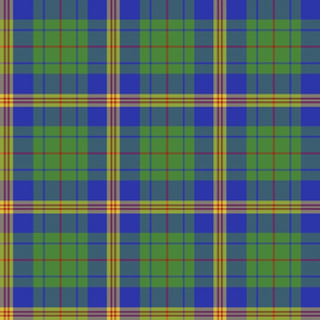 New Mexico official tartan - bright colors