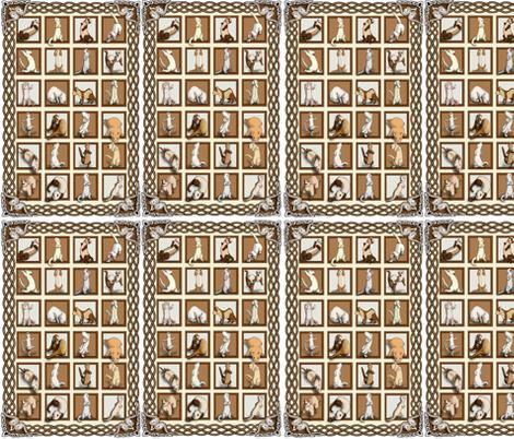 Just_Ferrets fabric by deva_kolb on Spoonflower - custom fabric