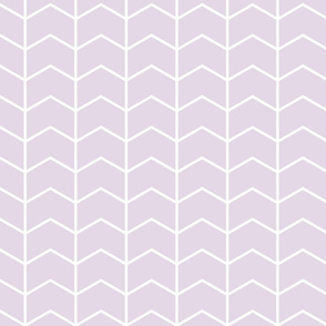 chevron light lilac || the lilac grove collection