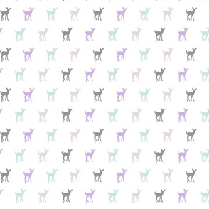multi colored fawn (small scale) || the lilac grove collection