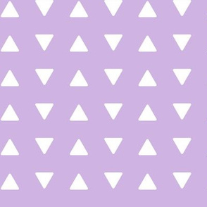 triangles lilac || the lilac grove collection